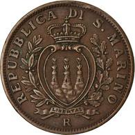Monnaie, San Marino, 10 Centesimi, 1937, Rome, TTB, Bronze, KM:13 - San Marino