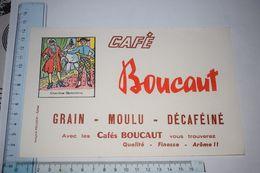 Buvard Café Boucaut Cherchez Colombine Epinal - Koffie En Thee