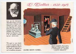 - BUVARD ALCOOLISME - SANTÉ SOBRIÉTÉ - TELLIER - 1828-1913 - Buvard N° 20 - - A