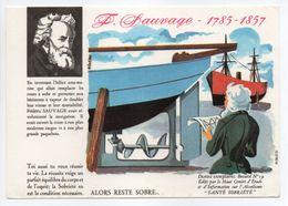 - BUVARD ALCOOLISME - SANTÉ SOBRIÉTÉ - SAUVAGE - 1785-1857 - Buvard N° 19 - - A