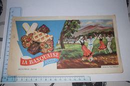 Buvard La Basquaise Gomez Frères Montreuil Seine Danse Au Pays Basque - Caramelle & Dolci