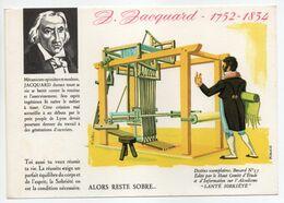 - BUVARD ALCOOLISME - SANTÉ SOBRIÉTÉ - JACQUARD 1752-1834 - Buvard N° 15 - - A