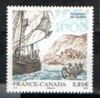 """France 2008 : Y&T** N° 4182 """" Fondation De La Ville De Québec """" à 30% De La Cote - Unused Stamps"""