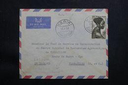 RÉPUBLIQUE CENTRAFRICAINE - Enveloppe De Mbaiki Pour La France En 1959 - L 65465 - Centrafricaine (République)