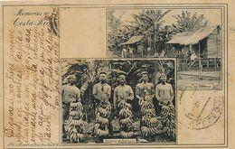 Memorias De Costa Rica  Finca Bananas . Bananes . No 12 Maria V. De Lines . Used 1905 To Valladolid - Costa Rica