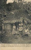 Venancio Y Su Familia En Tucurrique 110 Anos Esposa 107 .  Used 1916 To Cornut Chagny . Indios . Tribe - Costa Rica
