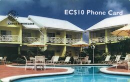 *IS. ST. LUCIA - 310CSLA* - Scheda Usata - St. Lucia