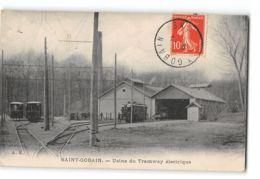 CPA 02 St Saint Gobain Usine Du Tramway Electrique - Other Municipalities