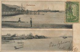 Puntarenas  Pioneer Card Used To Habana Cuba Edit Antonio Lehmann - Costa Rica