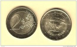 @Y@  Italie   2 Euro Commemorative    2016  Donatello   UNC - Italie