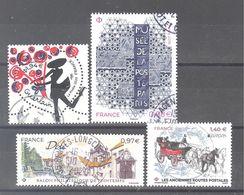 France Oblitérés : EUROPA Anciennes Routes Postales - Dole - Coeur Guerlain à 1,94 € & N° 5356 (cachet Rond) - Oblitérés