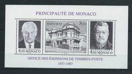 MONACO 1987. Bloc Feuillet N°39 . Neuf ** (MNH) - Blocchi