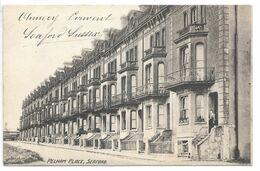 Cpa...angleterre...Seaford...Pelham Place...1908.. - Otros