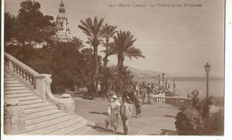 CPA ,Monaco , N°767, Monte Carlo ,Le Théâtre Et Les Terrasses Ed. J. Giletta - Terrassen