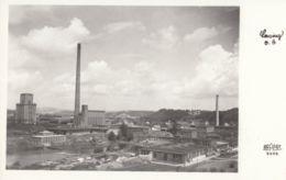 AK -OÖ -  LENZING - Panorama Mit Papier- Und Zellstofffabrik Lenzing 1959 - Vöcklabruck
