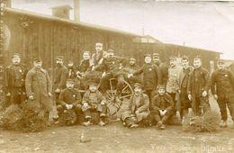 DORNITZ -  CAMP De PRISONNIERS D' ALTENGRABOW - CARTE PHOTO (7) D'un GROUPE De PRISONNIERS - - Guerre 1914-18