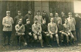 DORNITZ -  CAMP De PRISONNIERS D' ALTENGRABOW - CARTE PHOTO (8) D'un GROUPE De PRISONNIERS - - Guerre 1914-18