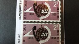 Belgique - Variété COB: Timbre Numéro 1333-Cu1+Cu2 état Neuf - Variedades (Catálogo COB)