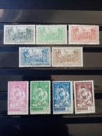 ALGERIE.1944 .N° 200 à 208. 9 Timbres NEUFS++/+.  Côte Yvert 17,00 € - Algérie (1924-1962)