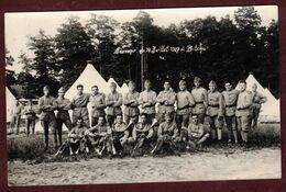 """Camp De Bitche """" Souvenir Du 14 Juillet 1927 * Moselle 57230 * Groupe Militaires Clairons Bidasse Militaire - Manoeuvres"""