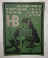 CATALOGUE - FAIENCERIE BRETONNE DE LA GRANDE MAISON QUIMPER HB GEORGES BRISSON 1926 - RARE - Quimper/Henriot (FRA)