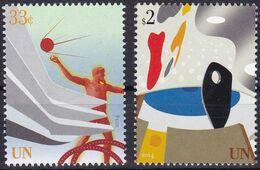 UNO-Wien, 2014, 1416/17,  MNH **, Freimarken: UNO-Gebäude. - Unused Stamps