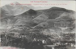 Bagnères De Bigorre - Panorama Sur La Ville, La Vallée Et Le Pic Du Midi - Bagneres De Bigorre