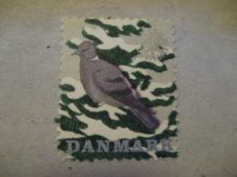 1961 Jul Dove Doves Pigeon Poster Stamp Vignette DENMARK Label Bird Birds - Pigeons & Columbiformes