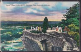 C. Postale - Rock City - Lookout Mountain - Circa 1950 - Non Circulee - A1RR2 - Atlanta