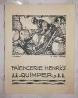CATALOGUE - FAIENCERIE HENRIOT QUIMPER - M.MEHEUT Le Vieux Potier - C.1950 - Quimper/Henriot (FRA)