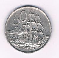 50 CENTS 1967  NIEUW ZEELAND /5659/ - New Zealand