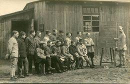 DORNITZ -  CAMP De PRISONNIERS D' ALTENGRABOW - CARTE PHOTO Du 8 Juillet 1918 - AU TABLEAU '' FERMENTATION SECONDAIRE '' - Guerre 1914-18