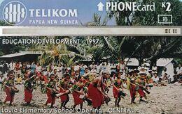 *PAPUA NUOVA GUINEA* - Scheda Usata - Papouasie-Nouvelle-Guinée