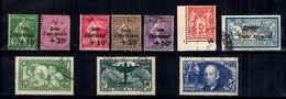 France Belle Petite Collection De Bonnes Valeurs Oblitérées 1925/1938. B/TB. A Saisir! - Collections