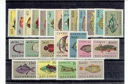 MOZAMBIQUE - AFRIQUE - N°387/410 XX - QUELQUES TP TRACES - N°406/7 - 9/10 - LUXE - 1951 - Mozambique