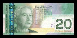 Canada 20 Dollars 2010 Pick 103g SC UNC - Canada