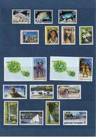 POLYNESIE FRANCAISE - 1980 à 2005 - Lot De 69 Timbres Et 4 Blocs Feuillets Neuf** - TTB Etat - Joli Lot Avec Belle Cote - Collections (sans Albums)