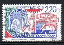 FRANCE. N°2556 Oblitéré De 1988. Thermalisme. - Bäderwesen