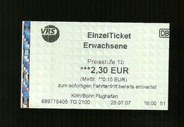 Biglietto Autobus Germania - Colonia ... Koln Da Euro 2.30 - Bus
