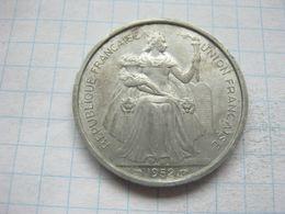New Caledonia , 5 Francs 1952 - New Caledonia