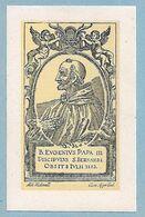 B. EUGENIO PAPA III - Ed. Westmall - Belgio - BR - Religione & Esoterismo