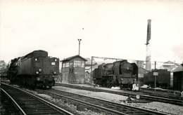 240720 - PHOTO BREHERET Cliché François Fontaine - CHEMIN DE FER TRAIN GARE - 50 AVRANCHES Locomotive - Avranches