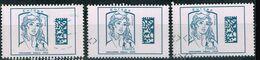 Frankreich 2015,Michel# 6256, Yt# 4975 O Marianne Ciappa Kawena Datamatrix Europe - 2013-... Marianne Of Ciappa-Kawena