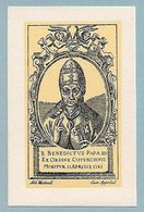 B. BENEDETTO PAPA XII - Cistercense - Ed. Westmall - Belgio - BR - Religione & Esoterismo