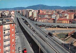 """010854 """"TO-CORSO GROSSETO E SOPRAELEVATA INAUGURATA 22/04/1972 ABBATTUTA 2019"""" ANIMATA, AUTO, S.A.C.A.T.  CART NON SPED - Bridges"""