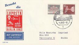 "Berlin / 1962 / Lupo-Sonderbeleg ""LUPOSTA"" (CE47) - Briefe U. Dokumente"