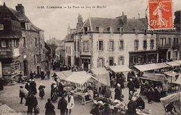 S30-012 Lesneven - La Place Un Jour De Marché - Lesneven