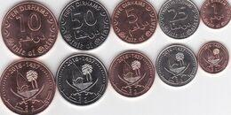Qatar - Set 5 Coins 1 5 10 25 50 Dirhams 2016 UNC Lemberg-Zp - Qatar