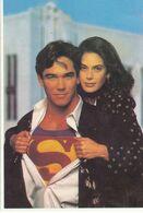 AFFICHE DE CINEMA SUR CARTE POSTALE: SUPERMAN - Manifesti Su Carta