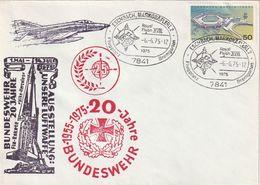 """Bundesrepublik Deutschland / 1975 / Sonderbrief """"Bundeswehr"""", SSt. """"Eschbach"""" (CE63) - Covers"""